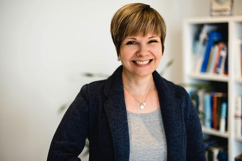 Beisitzerin Annette Hellmuth